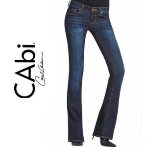 CAbi NWT #511 Classic Jean Stretch Dark Bootcut 12